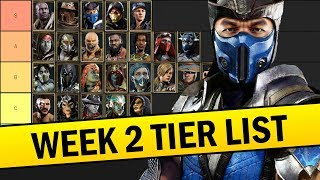 Mortal Kombat 11 - The Definitive Tier List - Best and Worst Characters!