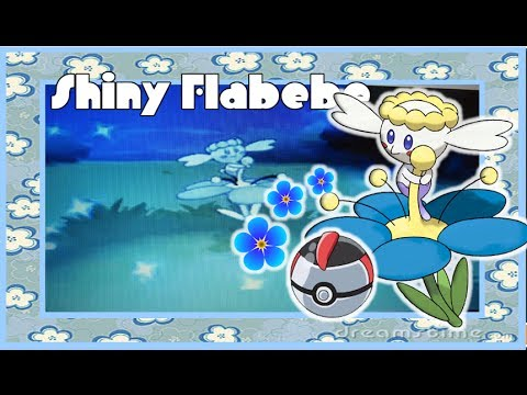 Shiny White Flabebe Shiny Flabebe on Pokemon x