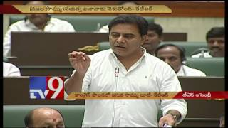 Sand revenue pocketed by politicians, contractors during Cong rule - KTR
