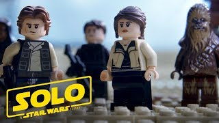 Solo: A Star Wars Story Official Trailer (As Told with LEGO Bricks)