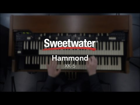 Hammond XK-5 Organ System Demo at Sweetwater #1
