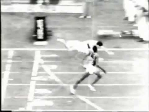 Milkha Singh in 1960 Olympic (Rome)  Final - 400m