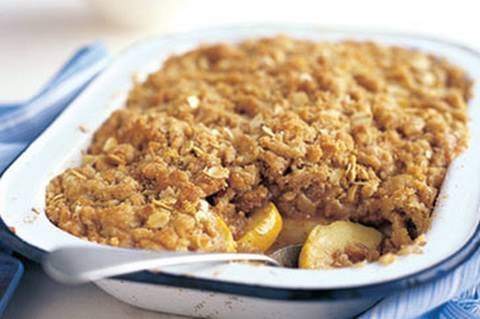 APPLE CRUMBLE - VIDEO RECIPE