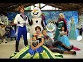 Frozen - Personagens vivos -  Castelo das Ilusões - 11947398006