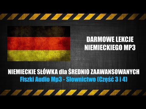 DARMOWE LEKCJE NIEMIECKIEGO MP3 – Nauka Niemieckich Słówek Za Darmo (na YouTube).
