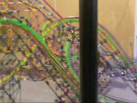Minebuster K'nex Roller Coaster