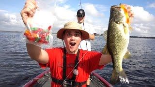 GUMMY WORM Bass Fishing TOURNAMENT!!! ft. LakeForkGuy