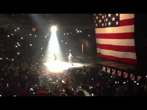 Jay-Z and Kanye West at American Airlines Center (Clip 2)