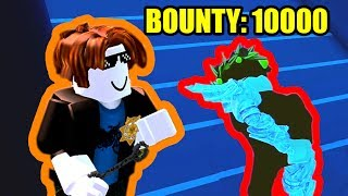 MLG BACON HAIR makes 10000 BOUNTY PLAYER RAGE QUIT! | Roblox Jailbreak