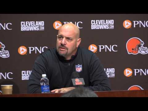 Browns coach Mike Pettine talks about Johnny Manziel