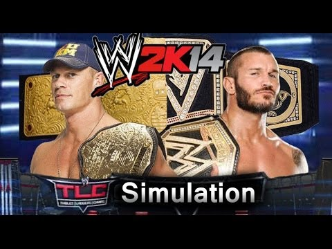 Wwe Tlc 2013 Wwe 2k14 Simulation video