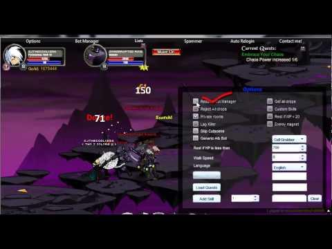 AQWorlds - New chaos rep bot