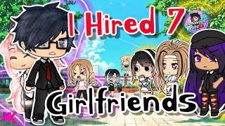 I Hired Seven Girlfriends | Gacha Life Mini Movie | GLMM