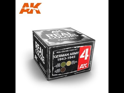 AK Interactive : Real Colors of WWII : Paint Range : Product Review