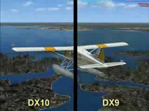 Direct x 10 vs direct x 9 flight simulator x in windows 7 for 10 x 10 x 10