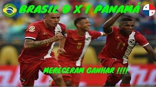 COPA DO MUNDO 2018 #1 BRASIL 0 X 1 PANAMÁ ] Mereceram Ganhar !!