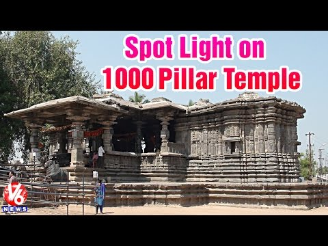 1000 Pillars Temple | Renovation works delayed with negligence of leaders - V6 Spot Light (6-6-2015)