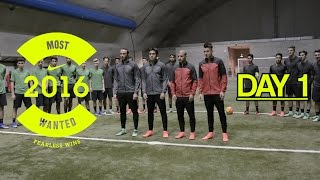 Nike Most Wanted 2016 | Day 1 with El Shaarawy, Pazzini, Eder and De Luca | Footballerz Italy