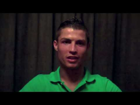 Cristiano Ronaldo on Facebook! Go to: www.facebook.com/Cristiano Video