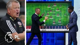 Breaking down Sheffield United's unique tactics v. Crystal Palace | Premier League | NBC Sports