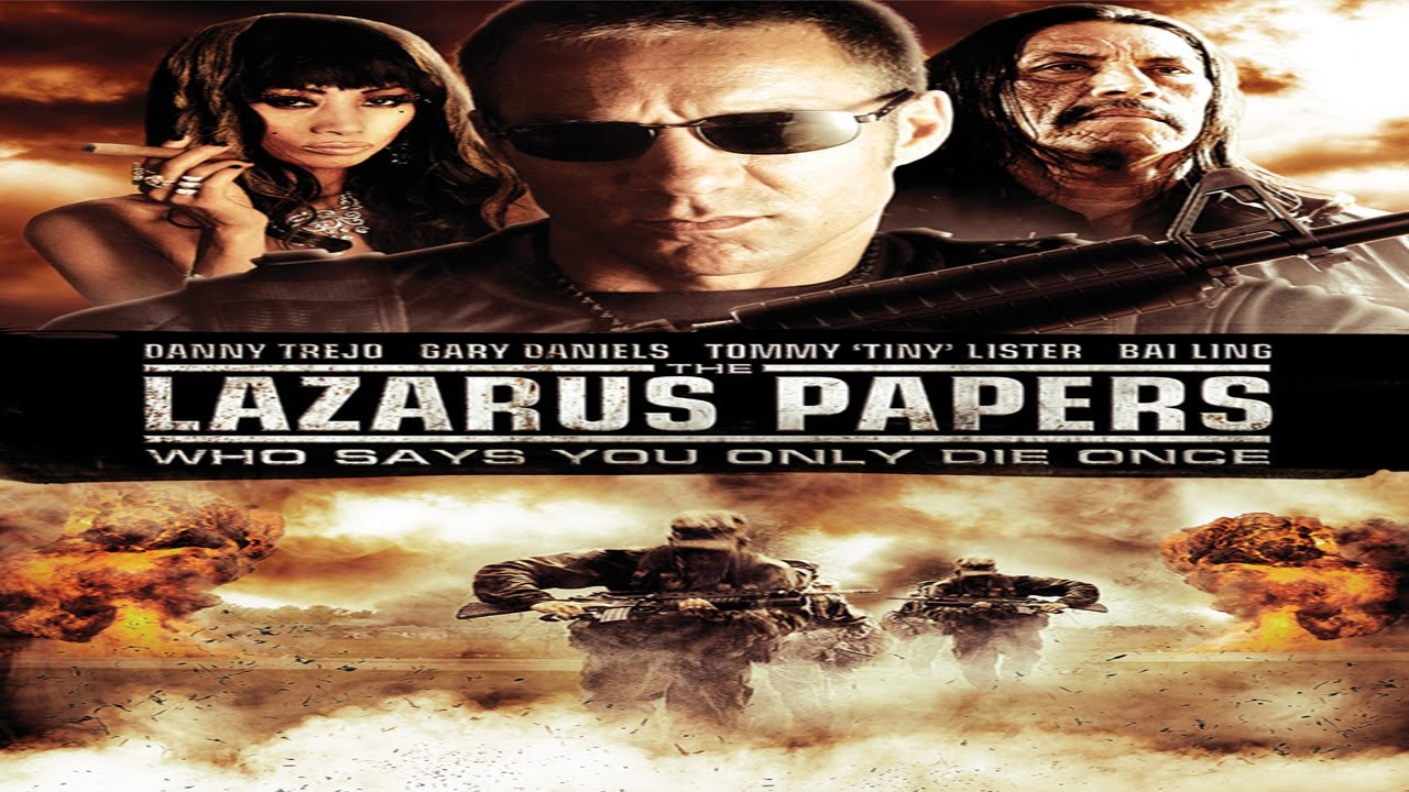 Papers The Movie Trailer The Lazarus Papers Movie