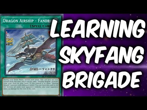 How to SKYFANG BRIGADE Deck (Yu-gi-Oh Deck Learning)