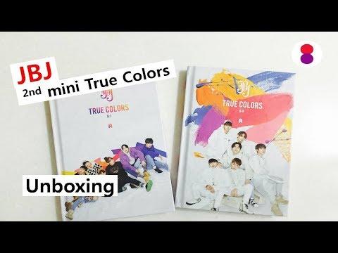 JBJ True Colors unboxing 2nd mini album   제이비제이 트루 컬러 앨범 언박싱