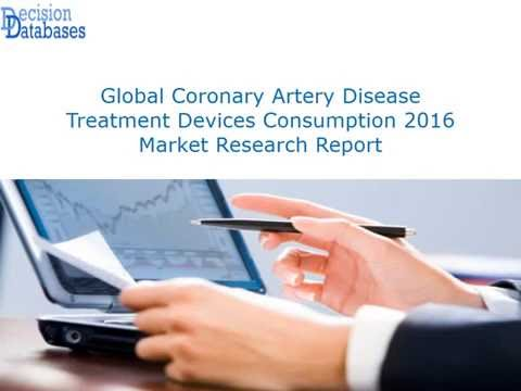Coronary Artery Disease Treatment Devices Consumption 2016 : Global Market Outlook
