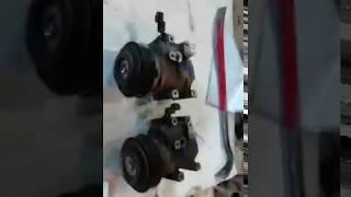 Компрессор кондиционера Kia Rio Hyundai solaris