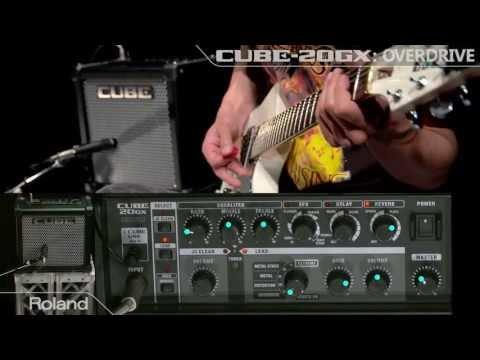 Roland CUBE-20GX Guitar Amplifier Sound Preview