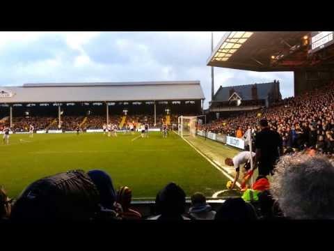 Fulham 2 - West Ham 1 (Steve Sidwell Goal)