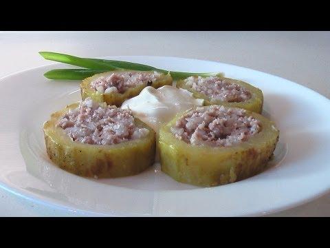 Кабачки фаршированные видео рецепт. Книга о вкусной и здоровой пище