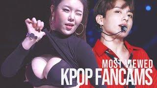 TOP 20 - Most VIEWED Kpop FANCAMS  • Update 2018 •