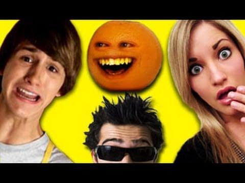 kids react to youtube stars annoying orange mysteryguitarman fred ijustine youtube. Black Bedroom Furniture Sets. Home Design Ideas