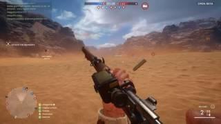 Battlefield 1  Twitch highlight: Turkish Army sniper sinai desert gameplay