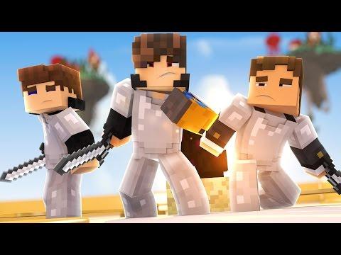 Minecraft: 2 HORAS DE EGG WARS - ‹ JUAUM ›