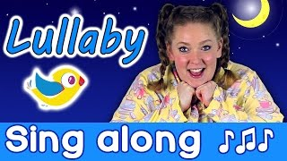 Sing Along - Lullaby Sleepy Head, kids bedtime song with lyrics