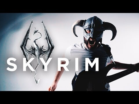 "SKYRIM THEME - ""Dragonborn"" (METAL/ROCK COVER by Jonathan Young)"