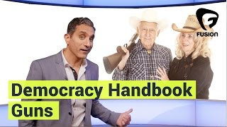 The Right to Buy Guns • Democracy Handbook with Bassem Youssef Ep. 2