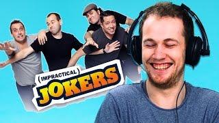 Irish People Watch Impractical Jokers