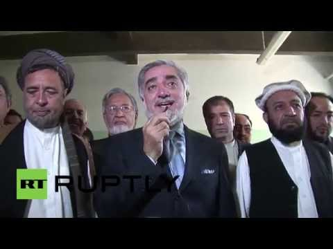 Afghanistan: Abdullah casts his vote in crunch-off poll