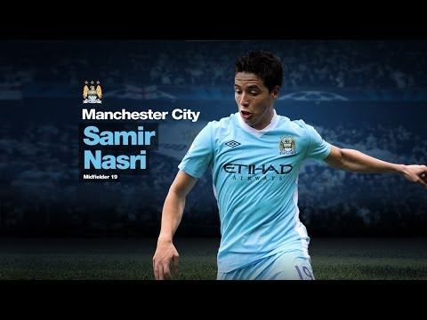Samir Nasri ► Goals, Skills, Assists► 2013/2014 HD