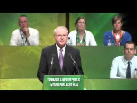 Martin McGuinness Speech 2015 Sinn Fein Ard Fheis Derry