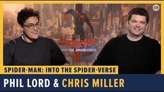 Phil Lord and Chris Miller Talk 'Spider-Man: Into the Spider-Verse'