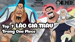 Top 7 Lão Già Trâu Trong One Piece | Bình Luận Bựa #30