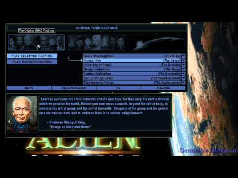 Remembrances of Games Past, Part #28 - Sid Meier's Alpha Centauri (1999) (PC) (Firaxis Games)