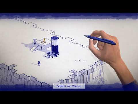 Inked | Обзор игры 🔥 играем в Inked (она же Пачкать Чернилами) ►Прохождение