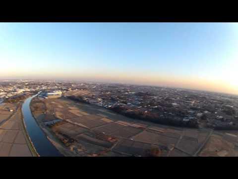 ラジコン飛行機空撮テスト