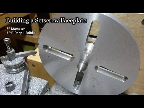 Making a Lathe Faceplate
