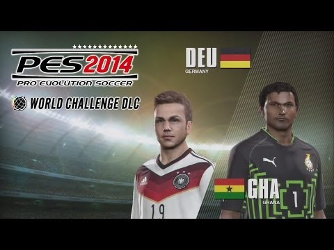 [NEW] PES 2014 - World Challenge DLC #2 - Germany VS Ghana Group G Match 2